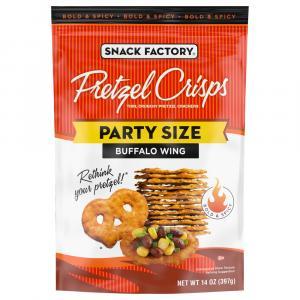 Snack Factory Buffalo Wing Pretzel Crisps