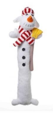 Multipet Snowman Dog Toy