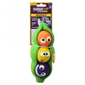 Multipet 3 Peas In A Pod 4 in One Dog Toy