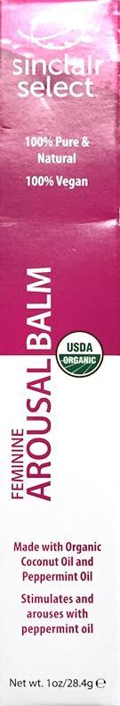 Sinclair Select Organic Arousal Balm