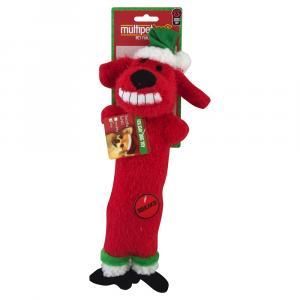 Multipet Loofa Christmas Dog Toy