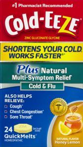 Cold-eeze Honey Lemon Quick Melts