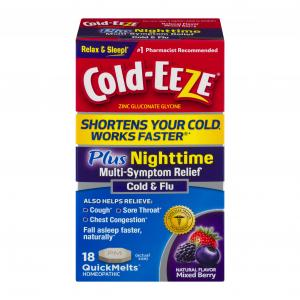 Cold-eeze Nighttime Mixed Berry Quick Melts