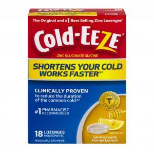 Cold-EEZE Honey Lemon Lozenges
