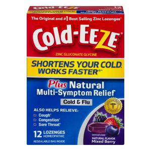 Cold-EEZE Plus Multi Symptom Mixed Berry Lozenges