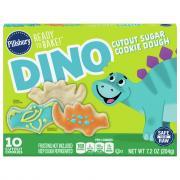 Pillsbury Dino Cutout Sugar Cookie Dough