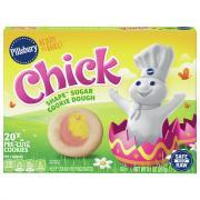 Pillsbury Ready to Bake Chick Shape Sugar Cookie Dough
