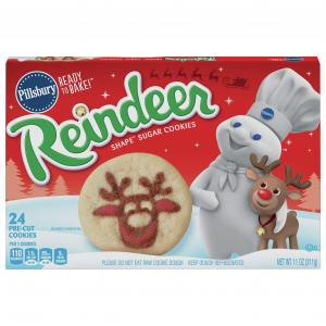 Pillsbury Shape Reindeer Sugar Cookies