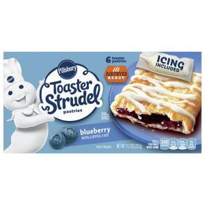 Pillsbury Blueberry Toaster Strudels