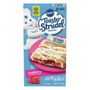 Pillsbury Raspberry Toaster Strudels