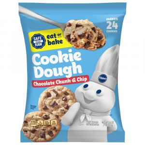 Pillsbury Ready To Bake Chocolate Chunk Cookies