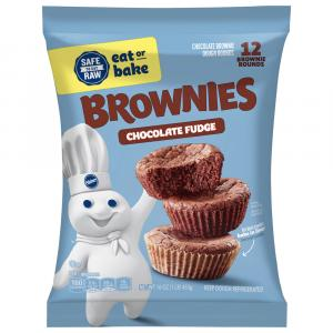 Pillsbury Place & Bake Brownies Peanut Chocolate Fudge