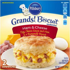 Pillsbury Biscuit Ham And Vegetables