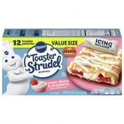 Pillsbury Cream Cheese & Strawberry Toaster Strudels
