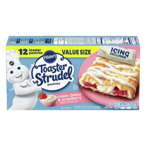 Pillsbury Cream Cheese & Strawberry Toaster Strudels
