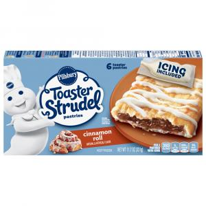 Pillsbury Cinnamon Roll with Brown Sugar Toaster Strudels