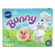 Pillsbury Ready to Bake Bunny Shape Sugar Cookie Dough
