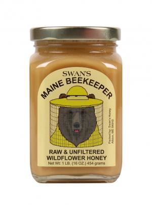 Swan's Raw Unfiltered Honey