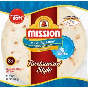 Mission Carb Balance Soft Taco Tortillas