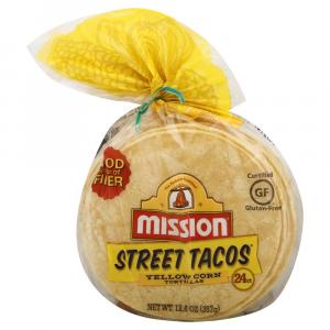 Mission Street Tacos Yellow Corn Tortilla