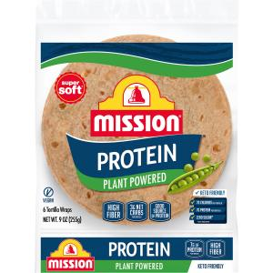 Mission Protein Plant Power Tortilla Wrap
