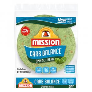 Mission Carb Balanced Spinach Herb Wrap