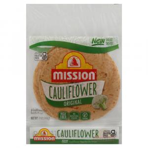 Mission Cauliflower Original Flour Tortilla Wraps
