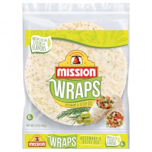Mission Rosemary & Olive Oil Wraps