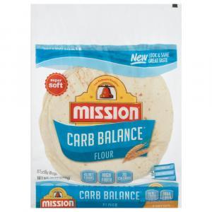 Mission Carb Balanced Medium Soft Tortilla Shell