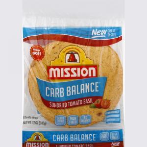 Mission Carb Balance Sun Dried Tomato Basil