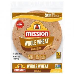 Mission Whole Wheat Flour Tortillas