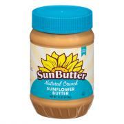 Sunbutter Natural Crunchy Sunflower Butter