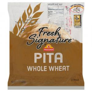 Mission Fresh Signature Pita Whole Wheat