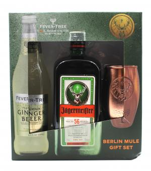 Jagermeister & Fever-Tree with Tumbler Berlin Mule Gift Set