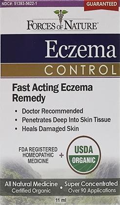 Forces of Nature Organic Eczema Cream