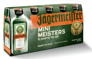 Jagermeister Mini Meisters 10 Shots-To-Go