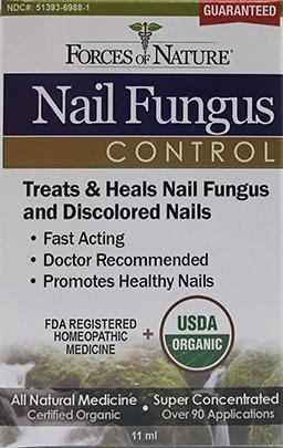 Forces of Nature Organic Nail Fungus Control