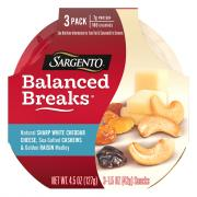 Sargento Balanced Breaks White Cheddar, Cashews, Raisins