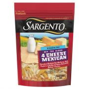 Sargento Reduced Fat 4 Cheese Mexican Shredded