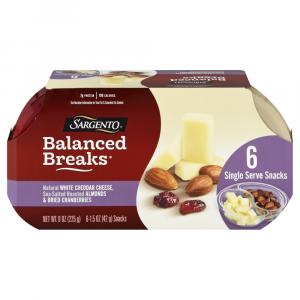 Sargento Balanced Breaks Almonds and Dried Cranberries