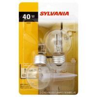 Sylvania 40 Watt G16.5 Candle Clear