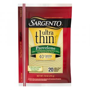 Sargento Ultra Thin Provolone Slices