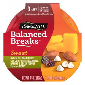 Sargento Sweet Balanced Breaks Cheddar, Greek Yogurt, Almond
