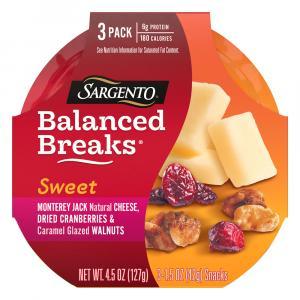 Sargento Balanced Breaks Monterey Jack, Cranberries, Walnuts