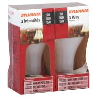 Sylvania 50/100/150 3-way Halogen Bulbs