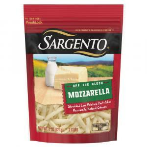 Sargento Off The Block Mozzarella Traditional Cut Shred