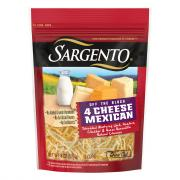 Sargento Off The Block 4 Cheese Mexican Shred