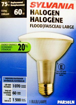 Sylvania 60-watt Halogen Flood Light Par30ln