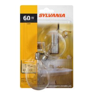 Sylvania 60 Watt Decor Candle Clear