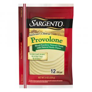 Sargento Smoke Flavor Provolone Cheese Slices